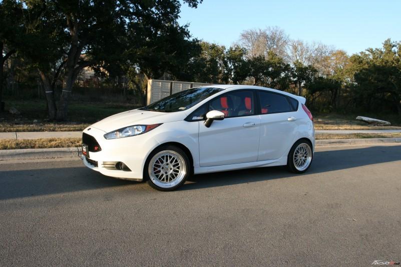 2014 Fiesta St White | www.imgkid.com - The Image Kid Has It!